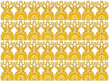 New thai art pattern style Stock Photo