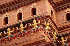 New Thai style architecture in China Royalty Free Stock Photography