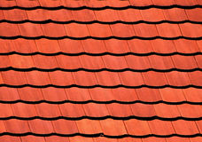 New tiles on the roof Stock Image