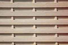 New timber fence background Stock Photo
