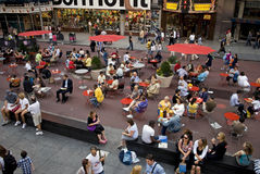 New Times Square 6 stock photo