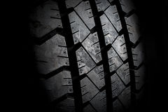 New tire abstract close up Stock Image