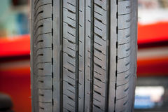New tire texture Stock Images