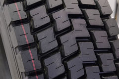 New tire texture Royalty Free Stock Photography
