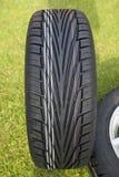 New tire tread Royalty Free Stock Image