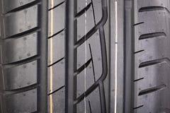 New tire tread Royalty Free Stock Photo