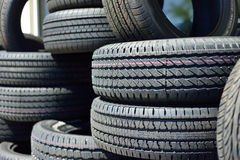 New Tires Royalty Free Stock Photography