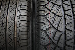 New Tires texture Stock Images