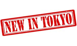 New in Tokio. Stamp with text new in Tokio inside,  illustration Royalty Free Stock Image