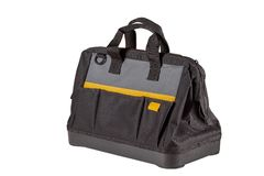 New tool bag. Isolated on white background royalty free stock photo