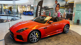 New Top Sports Cars, Jaguar stock images