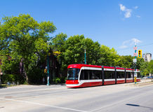 New Toronto Street Cars Royalty Free Stock Photos