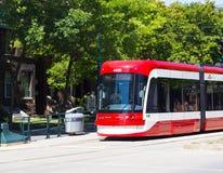 New Toronto Street Cars Royalty Free Stock Photo