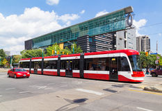 New Toronto Street Cars Stock Photos