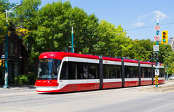 New Toronto Street Cars Stock Images
