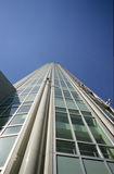 New tower. From glass and steel in Moscow stock photography