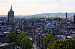 New Town. Edinburgh. Scotland. UK. Stock Photo