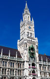 New Town Hall. The new Town Hall in Munich, Germany Stock Images