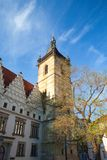 The New Town Hall buildings on Charles Square , Prague Royalty Free Stock Photography