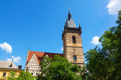 New Town Hall Charles Square Prague Royalty Free Stock Image