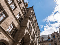 The New Town Hall in city Munich, Germany Royalty Free Stock Images