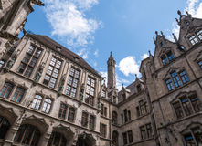 The New Town Hall in city Munich, Germany Stock Photos
