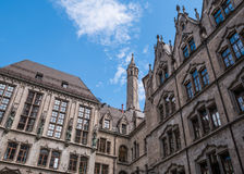 The New Town Hall in city Munich, Germany Royalty Free Stock Photography