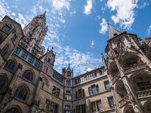 The New Town Hall in city Munich, Germany Stock Image