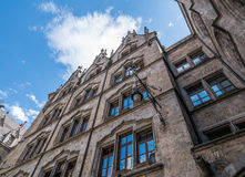 The New Town Hall in city Munich, Germany Royalty Free Stock Photos