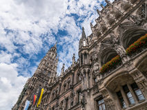 The New Town Hall in city Munich, Germany Stock Images