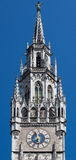 New Town Hall Clock Tower Munich Germany Royalty Free Stock Photo