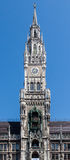 New Town Hall Clock Tower Munich Germany Stock Photos