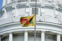 The new Town Hall in Colombo. Sri Lanka stock photo
