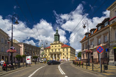 The new Town Hall in Lublin Stock Image