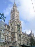 New Town Hall in Marienplatz, Munich Stock Photos