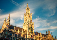 New Town Hall in Munchen. New Town Hall in Munich, Germany Stock Images