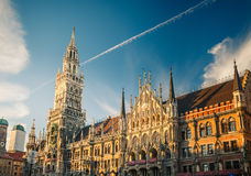 New Town Hall in Munchen. New Town Hall in Munich, Germany Royalty Free Stock Image