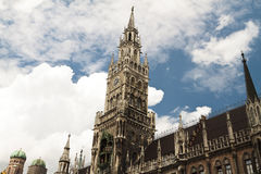 New town hall Munich Royalty Free Stock Photos