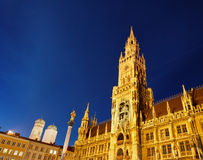 New Town Hall in Munich Stock Photography