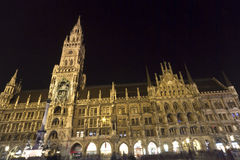 New Town Hall in Munich, Bavaria, Germany Royalty Free Stock Images