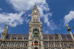 New Town Hall in Munich, Bavaria Royalty Free Stock Photo