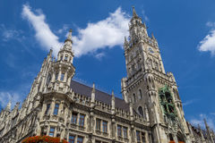 New Town Hall in Munich, Bavaria Stock Photography