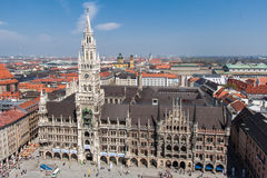 New Town Hall Munich Germany Royalty Free Stock Photography