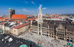 New Town Hall Munich Germany Stock Photo