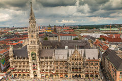 New town hall in Munich Germany Royalty Free Stock Image