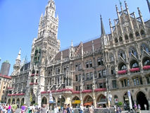 New Town Hall (Munich) Royalty Free Stock Photos
