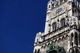 New Town Hall (Neues Rathaus) in Munich Stock Photos
