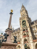 New Town Hall, Neues Rathaus, in Munich, Germany Stock Photo