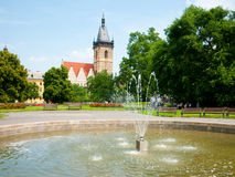 New Town Hall in Prague Royalty Free Stock Images