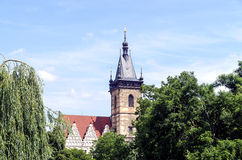 New Town Hall in Prague Stock Image